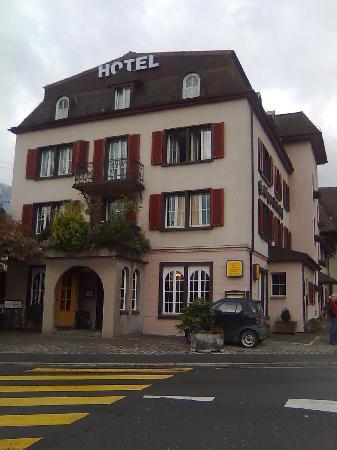 Hotel zum Ritterhof: hotel frontage