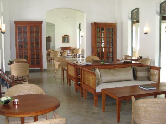 Hotel Amantaka: Lounge area