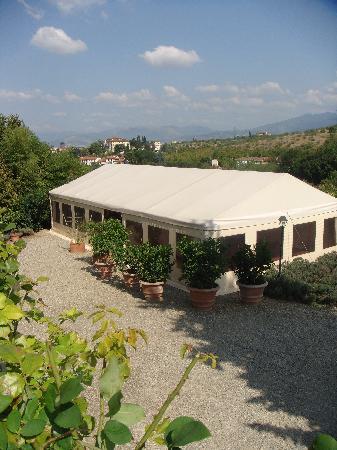 Villa Poggio ai Merli: The Marquee
