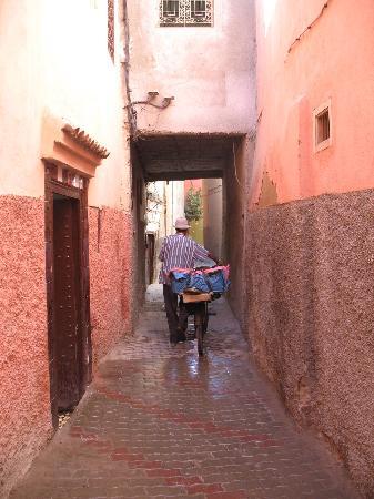 Riad Jardin des Reves: ...suivez le guide...