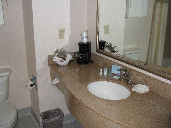 Oceanfront Lodge: Bathroom