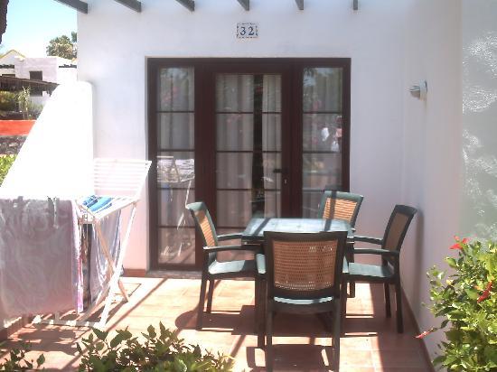 Fuerteventura Beach Club: our patio