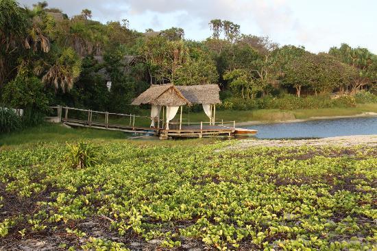 Lagoon at Ras Kutani