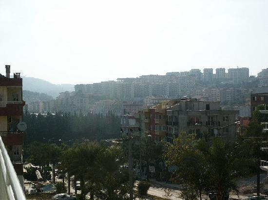 Cankaya Hotel: View from our balcony 1
