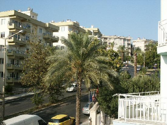 Cankaya Hotel: View from our balcony 2