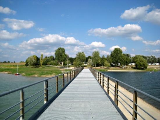 Giffaumont-Champaubert, Γαλλία: Frankreich, Lac du Der-Chantecoq
