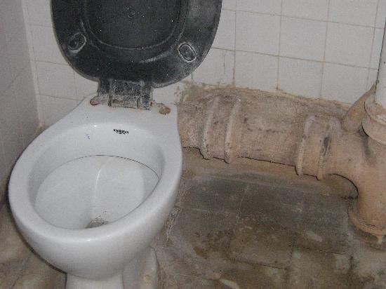 Hotel Namaskar: toilet