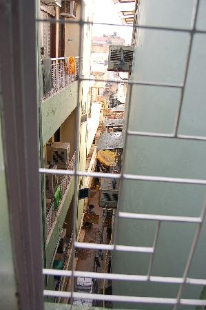 Hotel Namaskar: view from the window