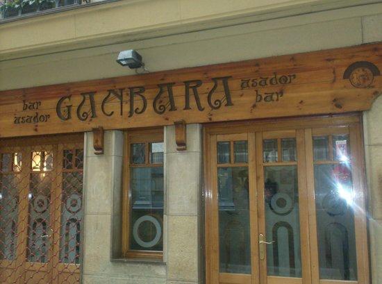 Entrance to Ganbara, San Sebastian, Spain.