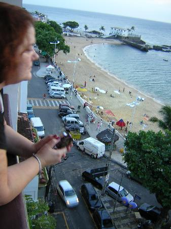 Grande Hotel Da Barra: View from our room # 601