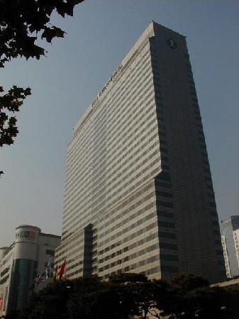 Grand InterContinental Seoul Parnas: 江南駅の真上にあるグランドインターコンチネンタル