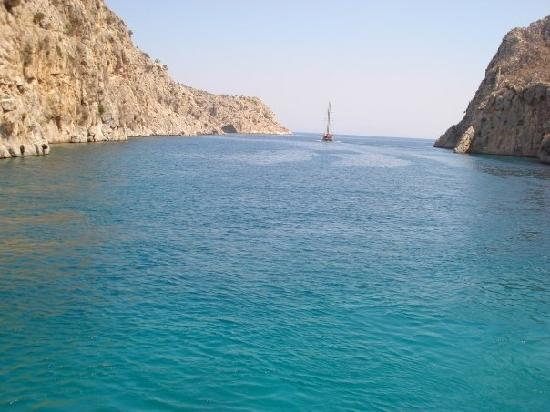 Lagas Aegean Village: A boat trip - lovely and well worth it.