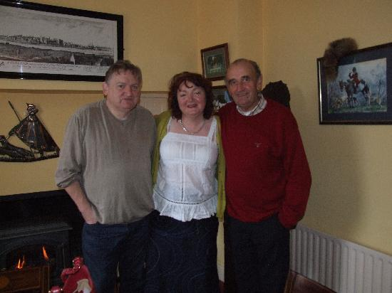 Dungarvan, Ireland: Pat, taken with guests Mary & Noel