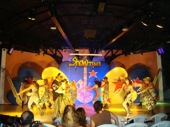 Hotel Arena Blanca: Show nocturno