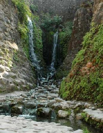 Chandigarh, India: one of several waterfalls