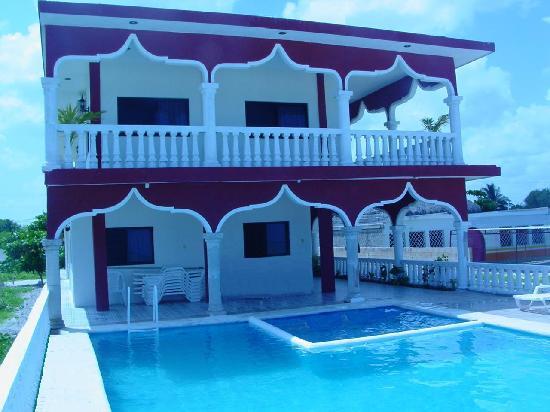 Ecohotel Flamingo Playa: flamingo celestún pool