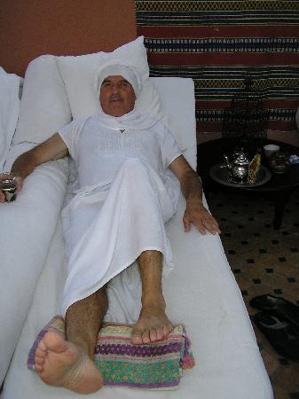 Riad Ajebel: después del hammam
