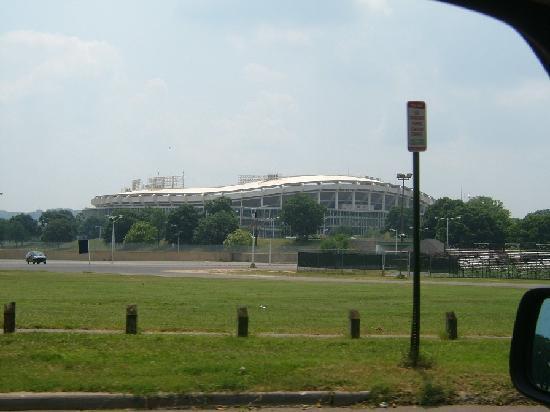 Robert F. Kennedy Memorial Stadium: exterior