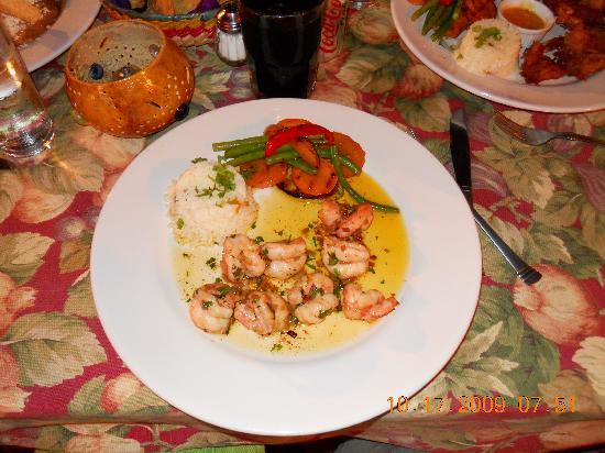 Topolo: cilantro shrimp