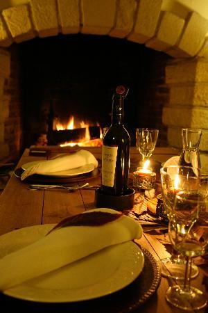 Les Puits de Lettree : Eric`s dinner table