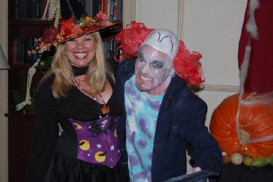 Marblehead, MA: Us at the Hawthorne Hotel Ball on Halloween!