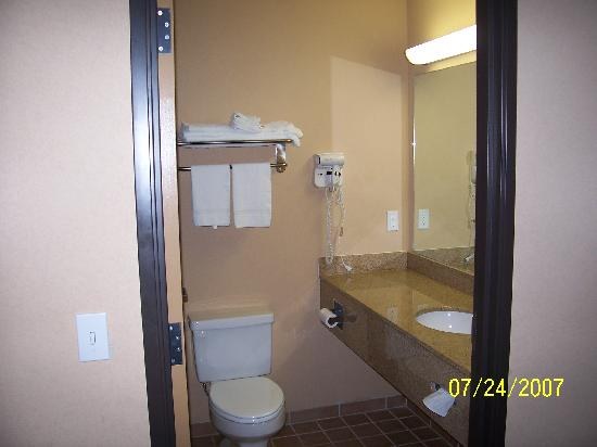 Quality Inn: Bath room
