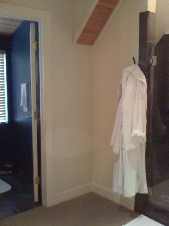 Inn Walden: Suite 5 shower and toilet area #1