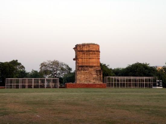 Gwalior, India: Kutia Mahal and Cricket nets