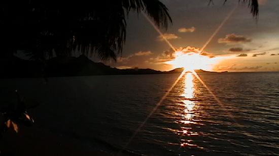 Nukubati Island, Fidji : Nukubati Sunset