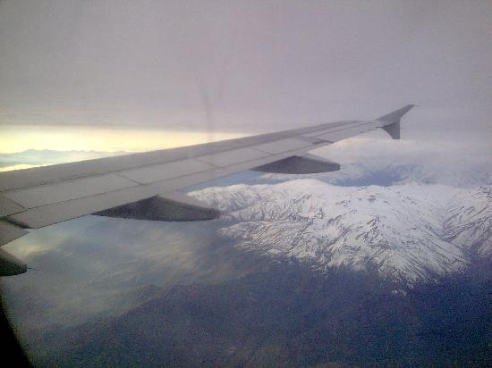 Cordillera de los Andes, vista aerea 5