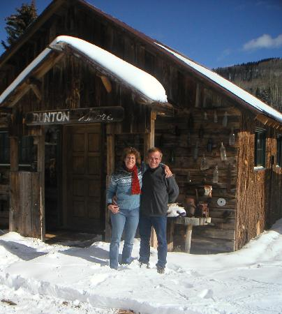 Dunton Hot Springs: The original store, now restored as guest lodging