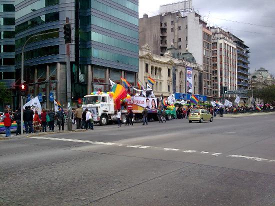 Foto de alameda santiago santiago chile calle alameda for Calles de santiago de chile