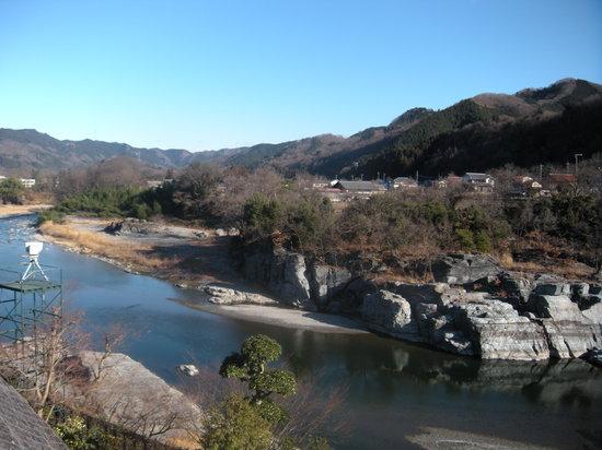 Nagatoro Iwadatami Rocks: 2009お正月撮影