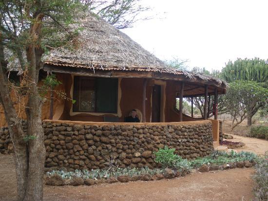 Amboseli Sopa Lodge: Two room bungalows