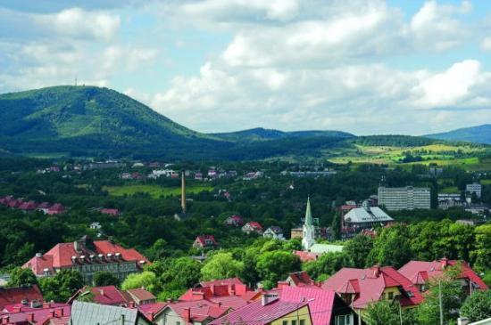 Walbrzych city view