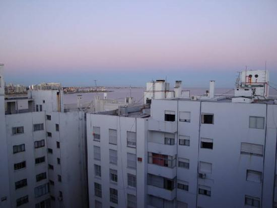 Punta Trouville Hotel: View from 10th floor