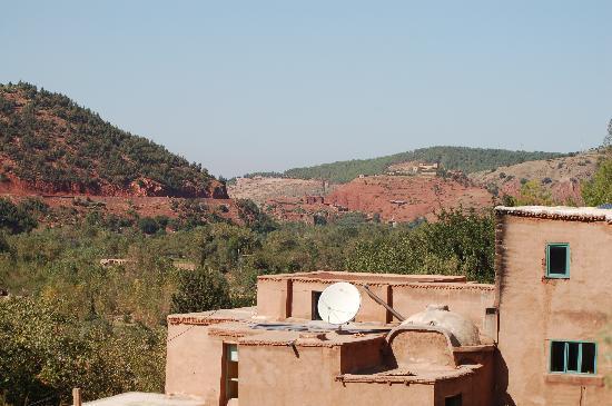 Ourika, Marruecos: La maison d'hôtes dans son environnement