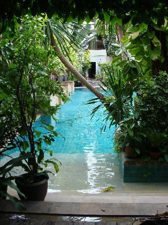 บุราส่าหรี รีสอร์ท: pool-access