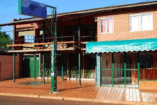 Bosetti Apart Hotel: Frente del hotel