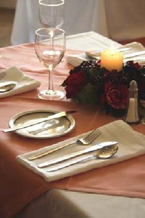 Foxbar Hotel: table dressing