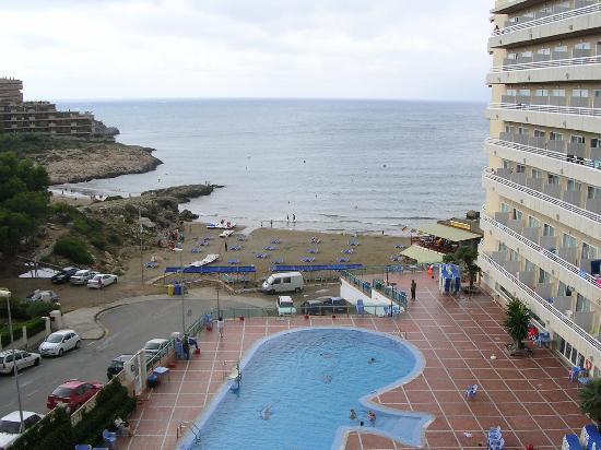 Cala Font Hotel: vue depuis la chambre