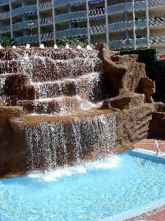 Cala Font Hotel: cascade
