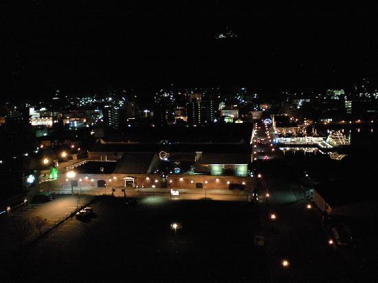 La Vista Hakodate Bay: 部屋からのベイエリア夜景