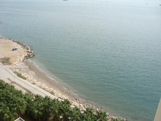 Mersin HiltonSA: View from hotel room