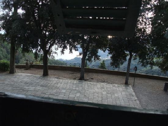 Santuario Nostra Signora di Soviore: View from our window
