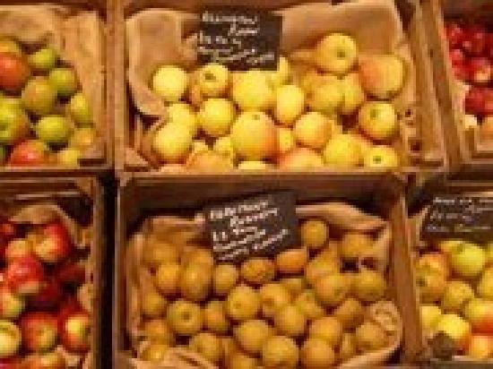 Lincoln, UK: Seasonal produce