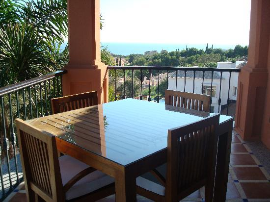 The Marbella Heights Boutique Hotel : Sea view from Terrace