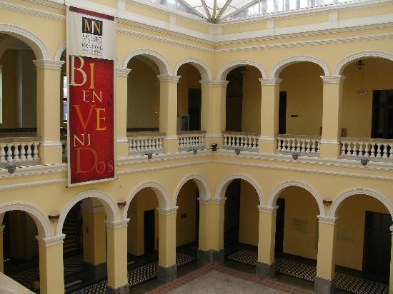 Museo para la Identidad Nacional: Espacios Internos3