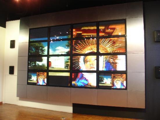 Museo para la Identidad Nacional: VideoWall