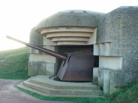 Байе, Франция: German bunker